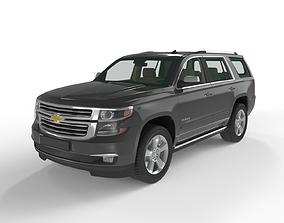 car Chevrolet Tahoe 2015 3D model