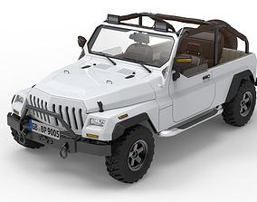Generic 4x4 SUV car 3D