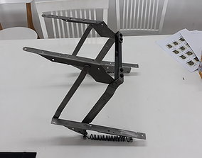 Lift Up Mechanism for Furniture 3D Print available