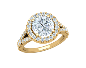 The Vintage Collection Diomand Ring 3d 2