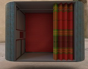 3D model Photo booth
