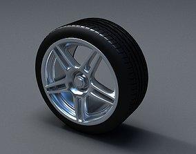 3D model Car rim tuning