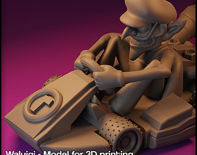 Waluigi Mario Kart - Waluigi for Monopoly 3D print model