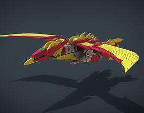 Fire Phoenix 3D model