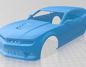 Camaro Convertible 2014 Printable Body Car