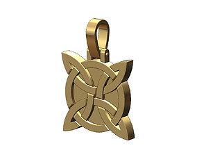 3D printable model Gaelic knot pendant