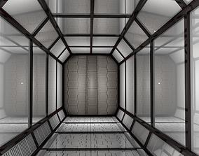 3D model Sci Fi Corridor fantasy