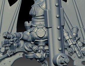 3D print model Cyborg bat toaster lovers