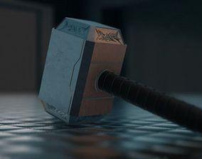 Thor Hammer 3D