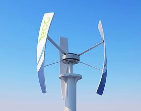 Vertical Wind turbine 3D