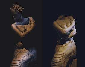 Medusa Statue 3D print model