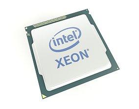 3D model Intel CPU XEON 001