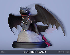 3D printable model Toothless Dragon