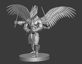 3d model for dungeon and dragons fantasy character weapon