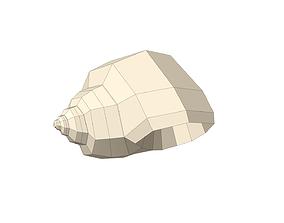 Shell geometry 3D highpoly