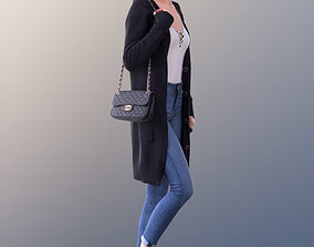 Myriam 10011 - Walking Casual Girl 3D asset