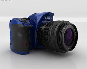Pentax K-30 Blue 3D model