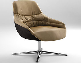 3D Walter Knoll Kyo Lounge chair