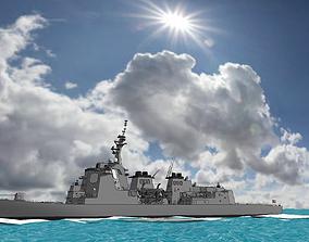 Atago Class Aegis Destroyer 3D