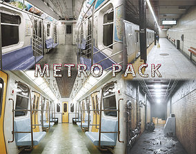 Metro Pack 3D asset