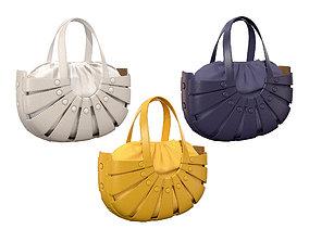 Bottega Veneta Shell Tote Bag 3 colors 3D asset