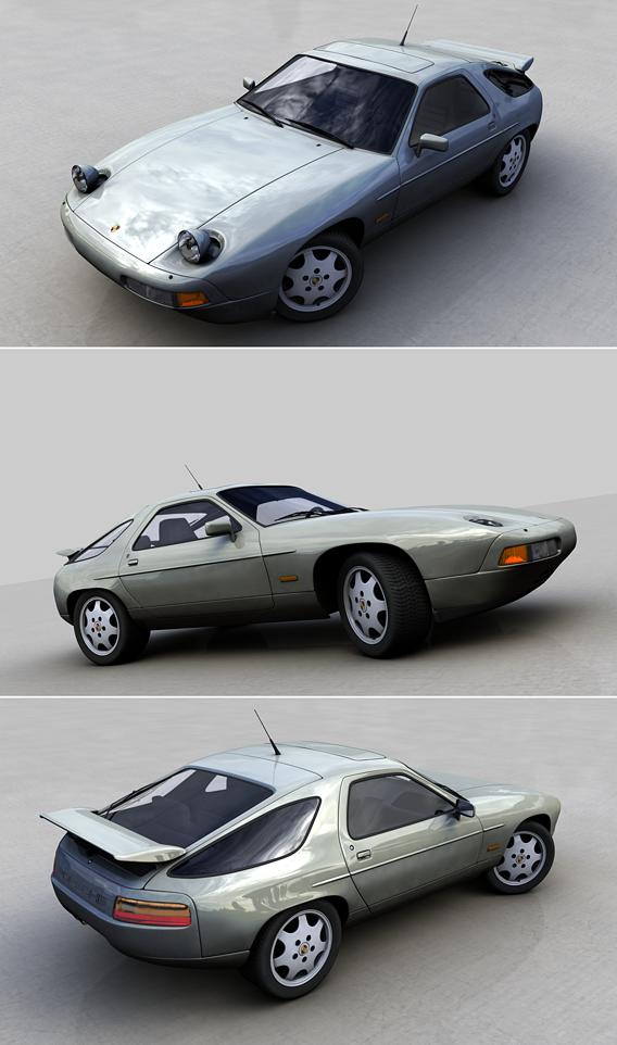PORSCHE 928 GT 1991