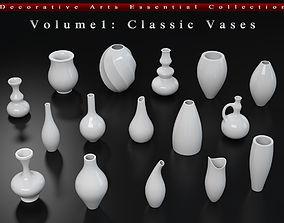 Decorative Arts Essential Volume1 Classic Vases 3D model