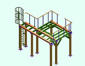 Mezzanine 3D printable model