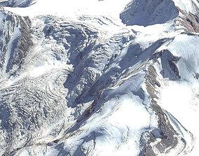 Mount Kazbek 5037 meters Georgia 3D model