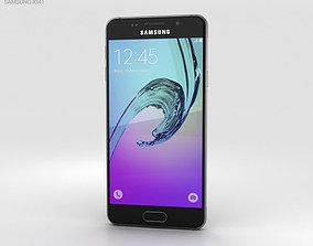 Samsung Galaxy A3 2016 Black sim 3D model
