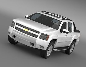 Chevrolet Avalanche Z71 2010 3D model
