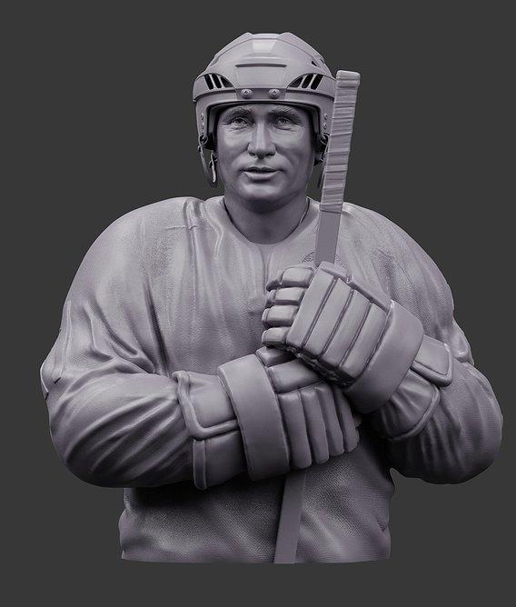 Vladimir Putin and hockey :)