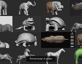 3D model Animals Sculpt