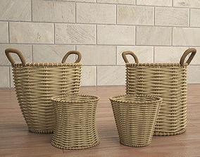 3D model old basket