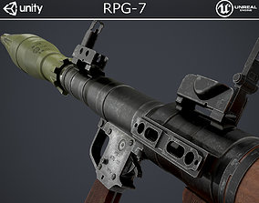 3D model game-ready PBR RPG-7