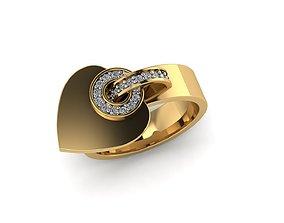 3D print model rings women