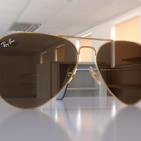 Ray Ban Aviator Classic - Sunglasses