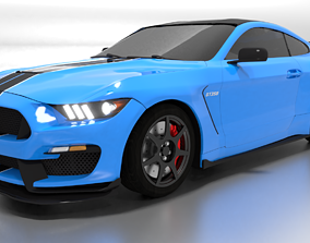 3D Ford Shelby GT350R Mustang