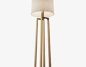 Holly Hunt - Helena Floor Lamp 3D