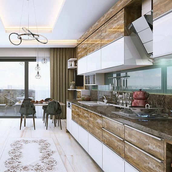 Kitchen design 01