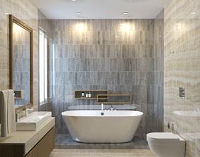 3D Modern Bathroom Interior
