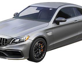 Mercedes-Benz C63 Coupe 2020 3D model