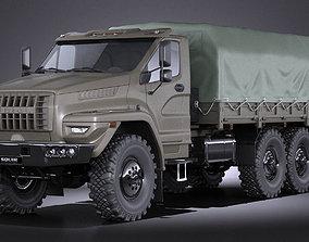 GAZ Ural Next 2015 Military truck 3D
