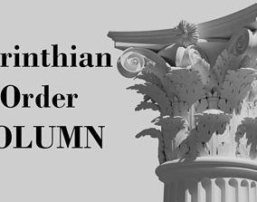 3D Corinthian order - COLUMN