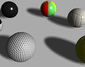 3D model Balls