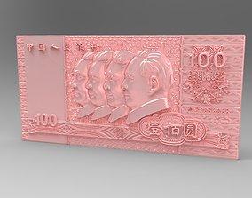 money RMB 3D print model