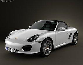 Porsche Boxster Spyder 2011 3D