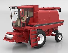 Combine Harvester machine 3D