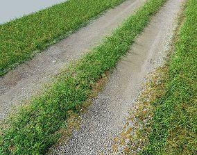 Tileable Gravel Driveway 2 3D asset
