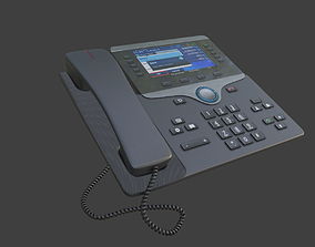 ip home landline phone Home Business Phones 3D model
